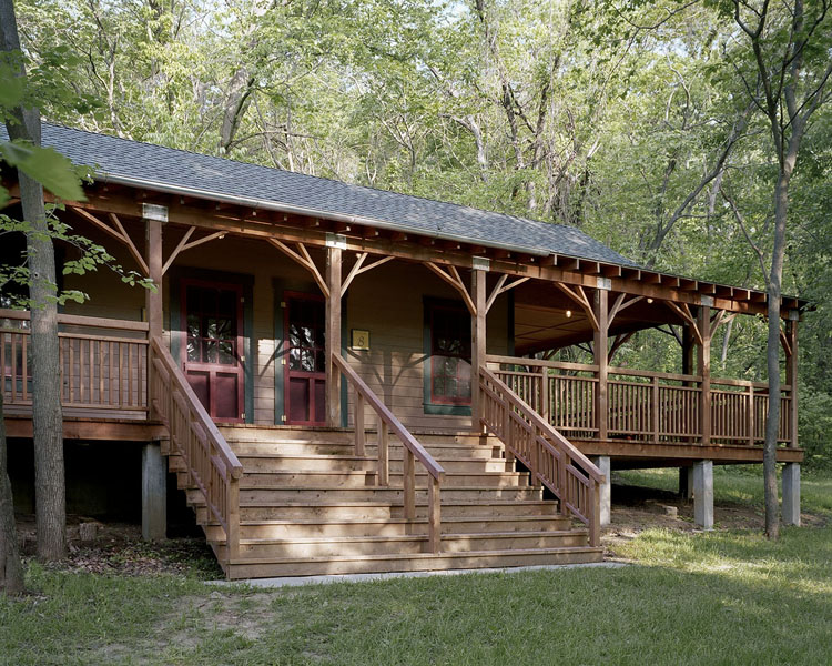 Pete's Cabins at the Heartland Retreat Center